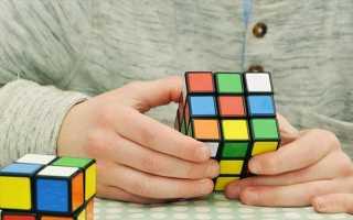 Как быстро собрать кубик рубика пошагово для начинающих