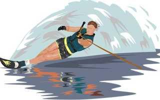 Как научиться кататься на водных лыжах