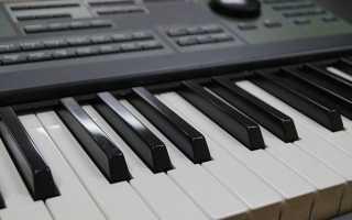 Как научиться играть на синтезаторе с нуля
