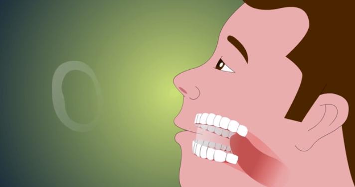 дымовые колечки языком