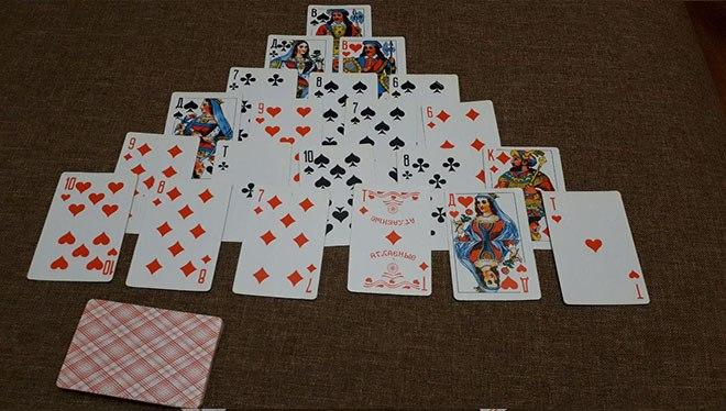 Играть в карты расклад мини казино своими руками