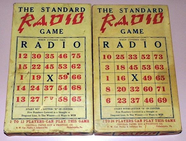 Одна из разновидностей игры - Радио из 1920 года