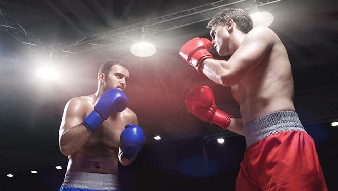 боксерский бой