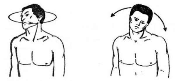 упражнение для головы