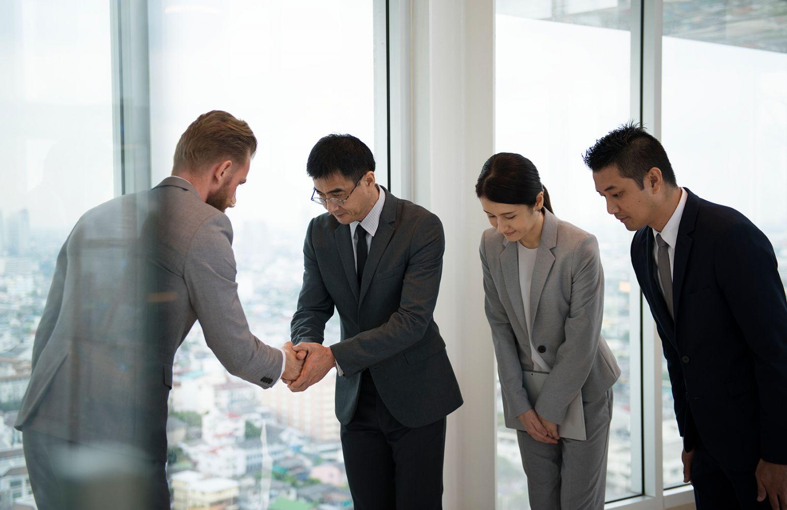 Бизнесмен в Японии