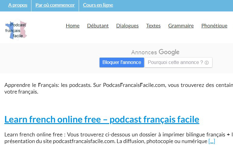Podcastfrancaisfacile