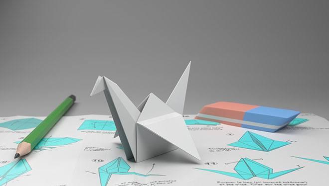 инструменты для оригами