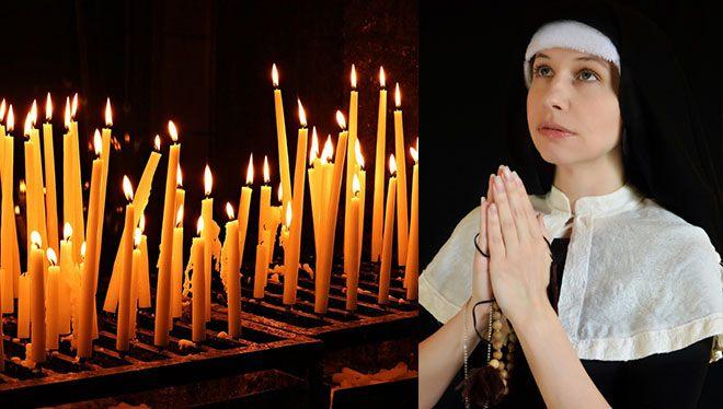молитва со свечами