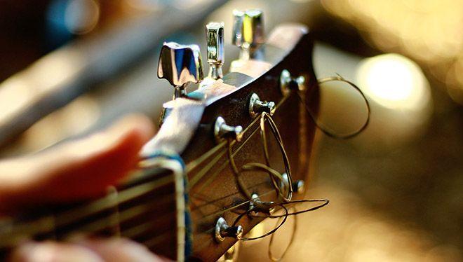 настройка гитары