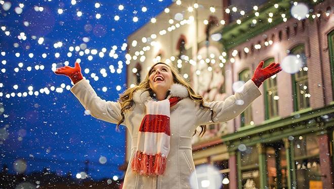 рождественское счастье