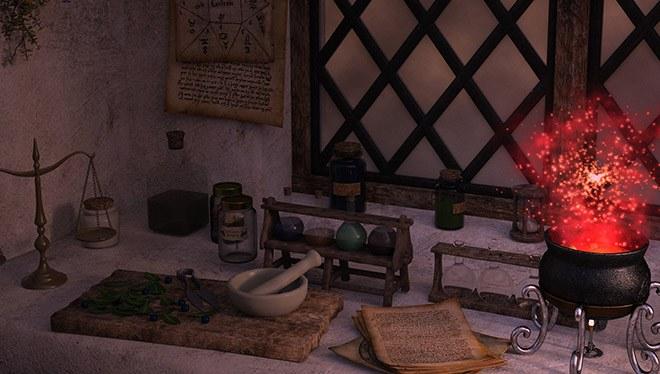 столик для алхимии