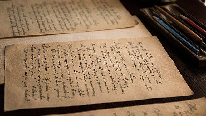 почерк для подражания