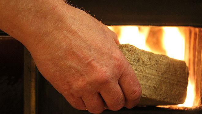 печка огонь