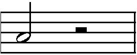 половинная нота