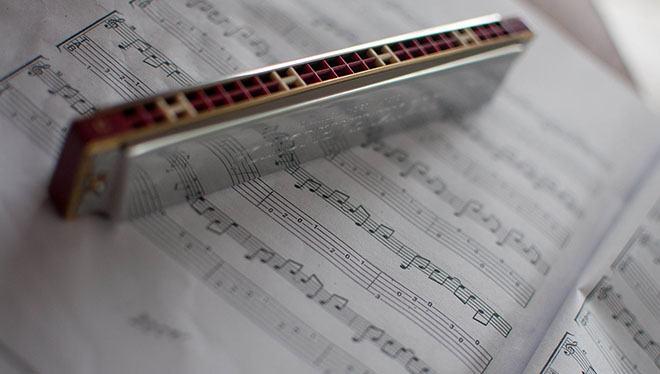 ноты для гармоники
