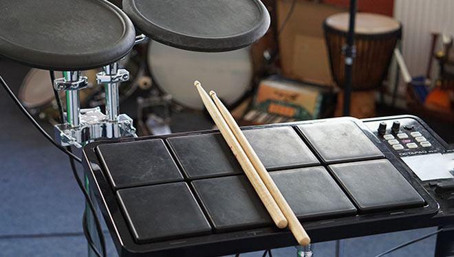 электронная установка барабаны
